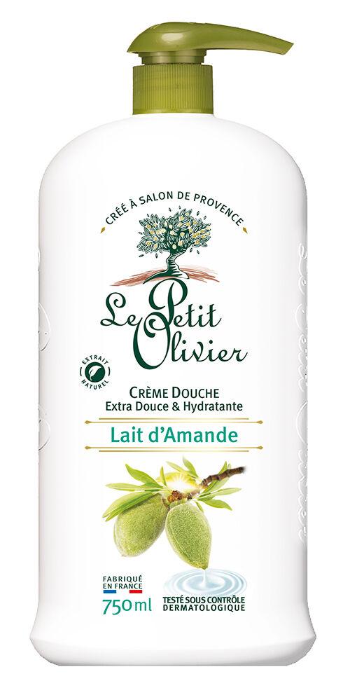 Le Petit Olivier Crème Douche Extra Douce - Lait d'Amande