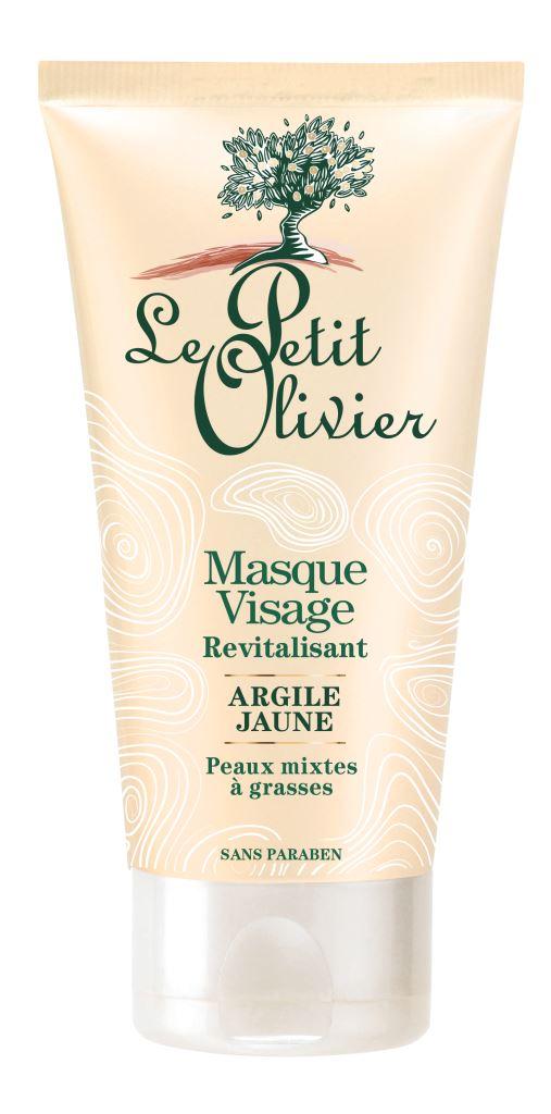 Le Petit Olivier Masque Visage Revitalisant - Argile Jaune