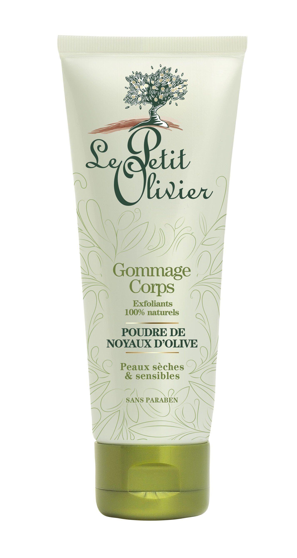 Le Petit Olivier Gommage Corps - Poudre de Noyaux d'Olive - Exfoliants 100% Naturels