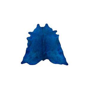 Pols Potten Tapis Peau de vache véritable / 4 m2 - Pols Potten bleu nuit en cuir
