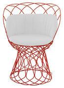 EMU Coussin d'assise / Pour fauteuils Re-trouvé - Emu blanc en tissu