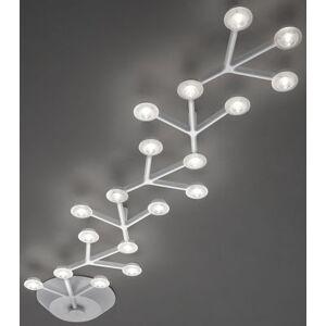 Artemide Plafonnier LED NET / Linéaire - L 125 cm - Artemide blanc en métal
