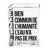 Made in design Editions Carafe La Lame d'Eau by Philippe Starck / 50 cl - Made in design Editions noir,transparent en verre