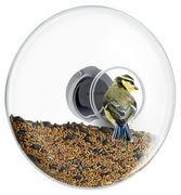 Eva Solo Mangeoire à oiseaux Large / Pour fenêtre - Ø 20 cm - Eva Solo noir,transparent,inox en verre