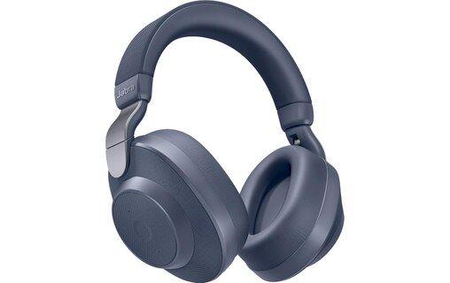 Jabra Elite 85h Bleu - Casque Bluetooth 5.0 avec réduction de bruit active
