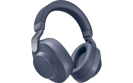 Jabra Elite 85h Bleu - Casque Bluetooth 5.0 avec réduction de bruit active