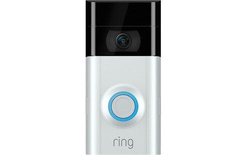 Ring Video Doorbell 2 - Sonnette vidéo connectée HD Wi-Fi