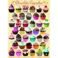 Eurographics Cupcakes au chocolat