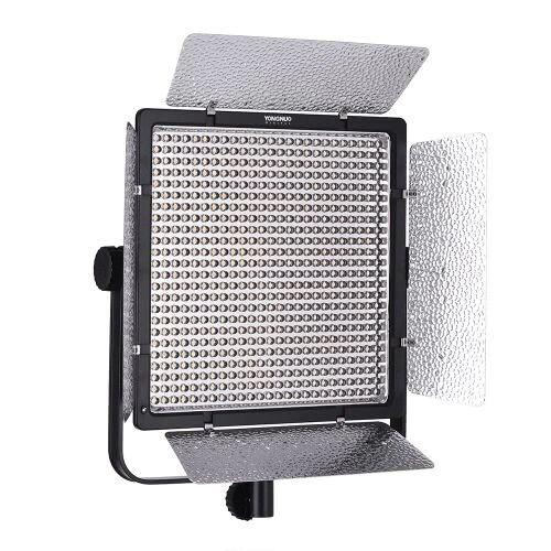 YONGNUO YN860 3200K-5500K Bi-Color Temperature Pro Lumière vidéo Light Light Light réglable CRI 95+ avec CT Filtres Télécommande Support Télécommande APP pour Studio Macro Film Portrait de mariage Extérieur Éclairage