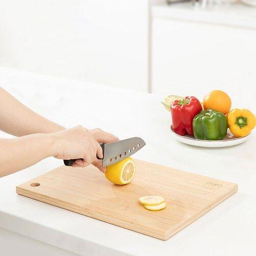 yi wu yi shi Xiaomi Youpin Planche à Découper Carré En Bambou Planche À Découper Suspendue Épaisse Planche À Découper Naturel Cuisine Cuisine Planche À Découper