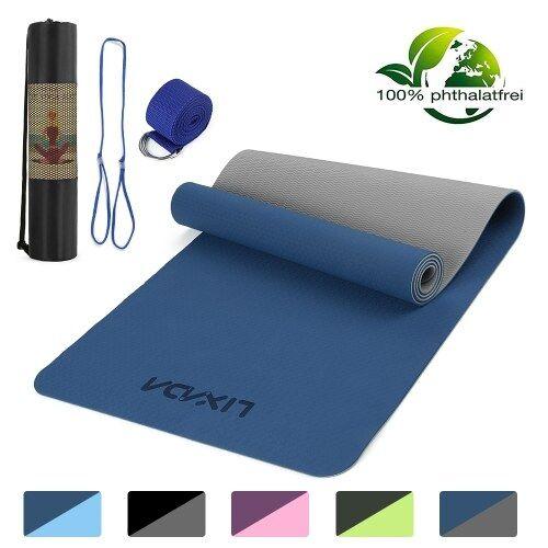 lixada Tapis de yoga antidérapant 72x24 po