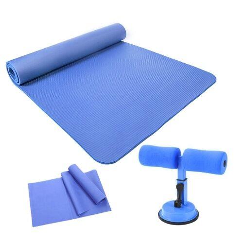 lixada Tapis de pratique de yoga écologique et insipide avec dispositif d'assistant assis