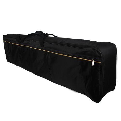 other Portable 88 touches Clavier électrique Piano rembourré affaire Gig Bag Oxford tissu (livraison de couleur de sangle de sac)