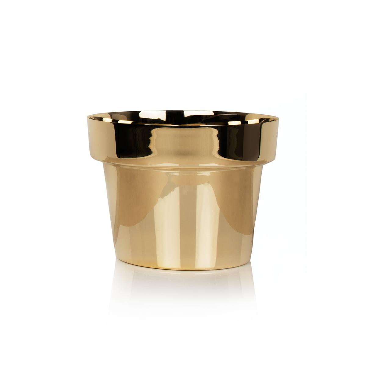 Skultuna - Pot de fleur, petit format, laiton poli