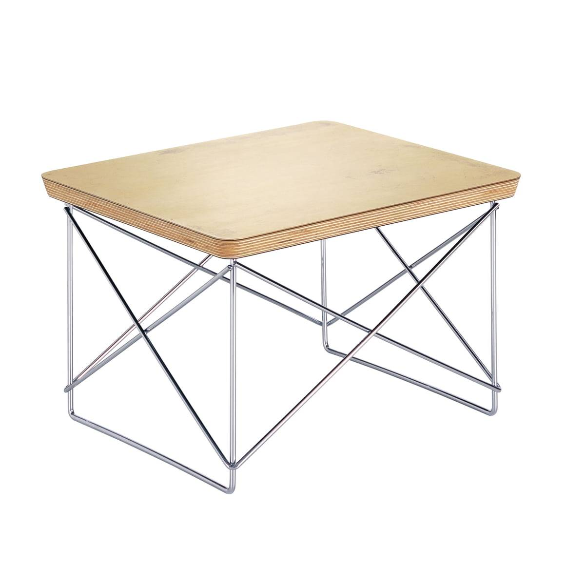 Vitra - Eames Occasional Table LTR, feuille d'or