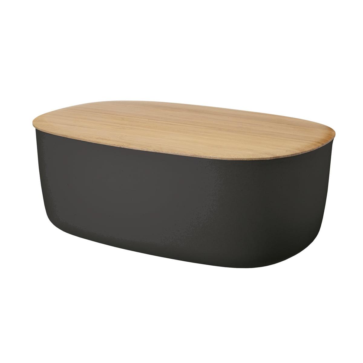Stelton Rig-Tig by Stelton - Box-It Boîte à pain, noire