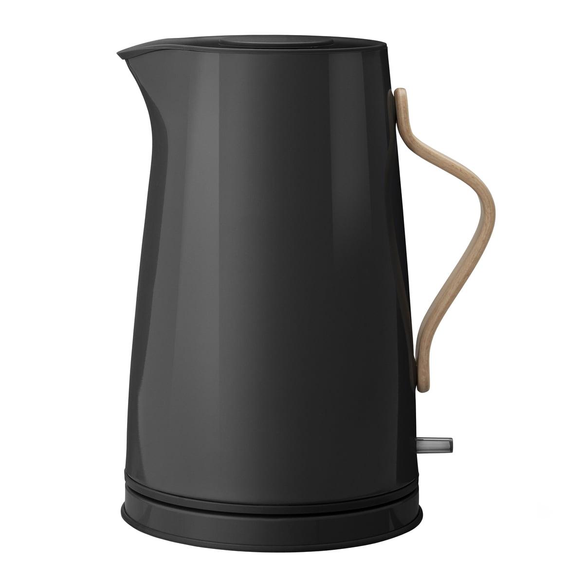 Stelton - Emma chauffe-eau 1,2 l, noir