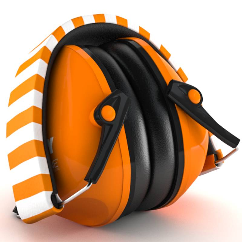 Alpine Muffy casque anti-bruit pour enfants (orange)