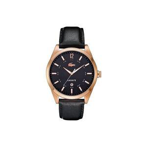 Lacoste Bracelet de montre Lacoste 2010582 / LC-52-1-34-2266 Cuir Noir 22mm