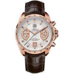 Tag Heuer Bracelet de montre Tag Heuer CAV514B / BC0849 / BC0870 Peau de crocodile Brun 22mm