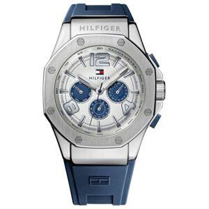 Tommy Hilfiger Bracelet de montre Tommy Hilfiger TH-208-1-14-1403 Silicone Bleu 23mm