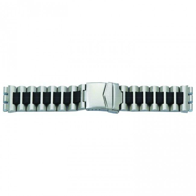Alternative Swatch Bracelet de montre alternative adaptée à Swatch 1075 Acier 19mm