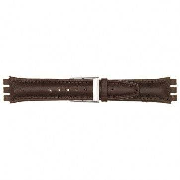 Alternative Swatch Bracelet de montre Swatch (alt.) 247.06PL Cuir Rouge 17mm