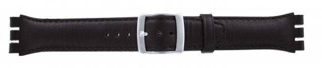 Alternative Swatch Bracelet de montre Swatch (alt.) 51643.03 Cuir Brun 19mm
