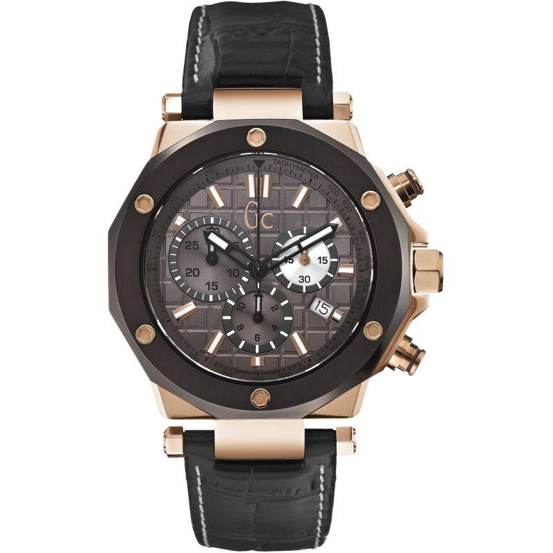 Guess Bracelet de montre Guess X72024G5S Cuir Noir 13mm