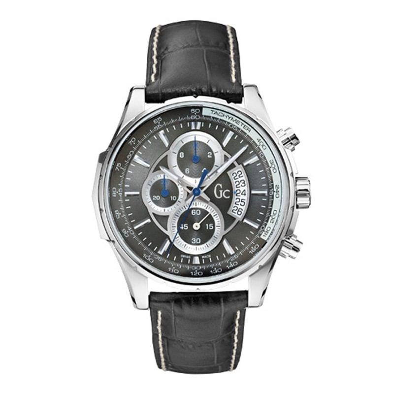 Guess Bracelet de montre Guess X81005G5S Cuir Noir 22mm