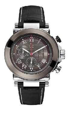 Guess Bracelet de montre Guess X90004G5S / BRC-I37002G1 / BRC-X44007G1 Cuir Noir 13mm