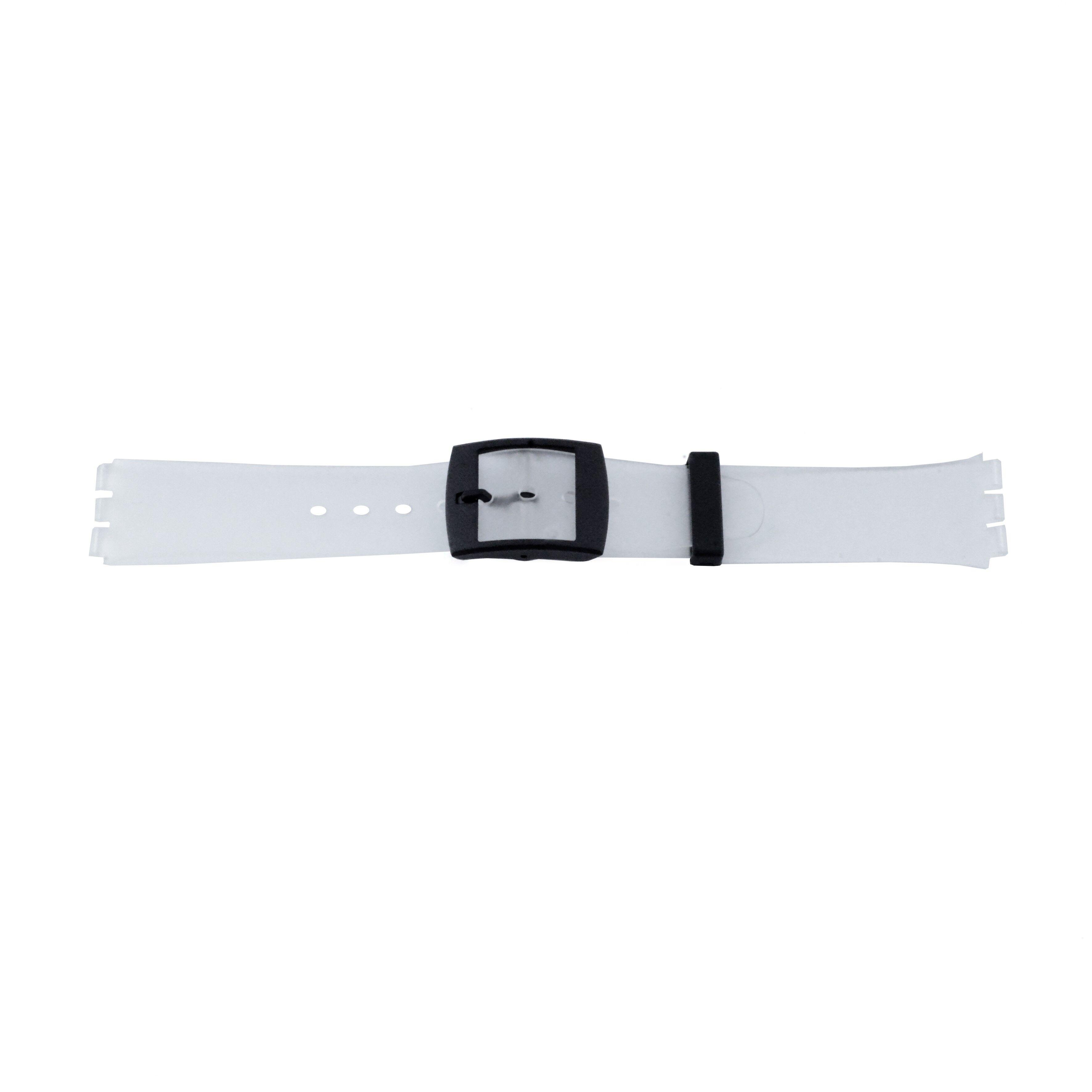 Alternative Swatch Bracelet de montre Swatch (alt.) 51.00 Plastique Transparant 17mm