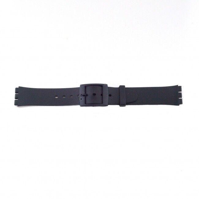 Alternative Swatch Bracelet de montre Swatch (alt.) P51 Plastique Noir 17mm