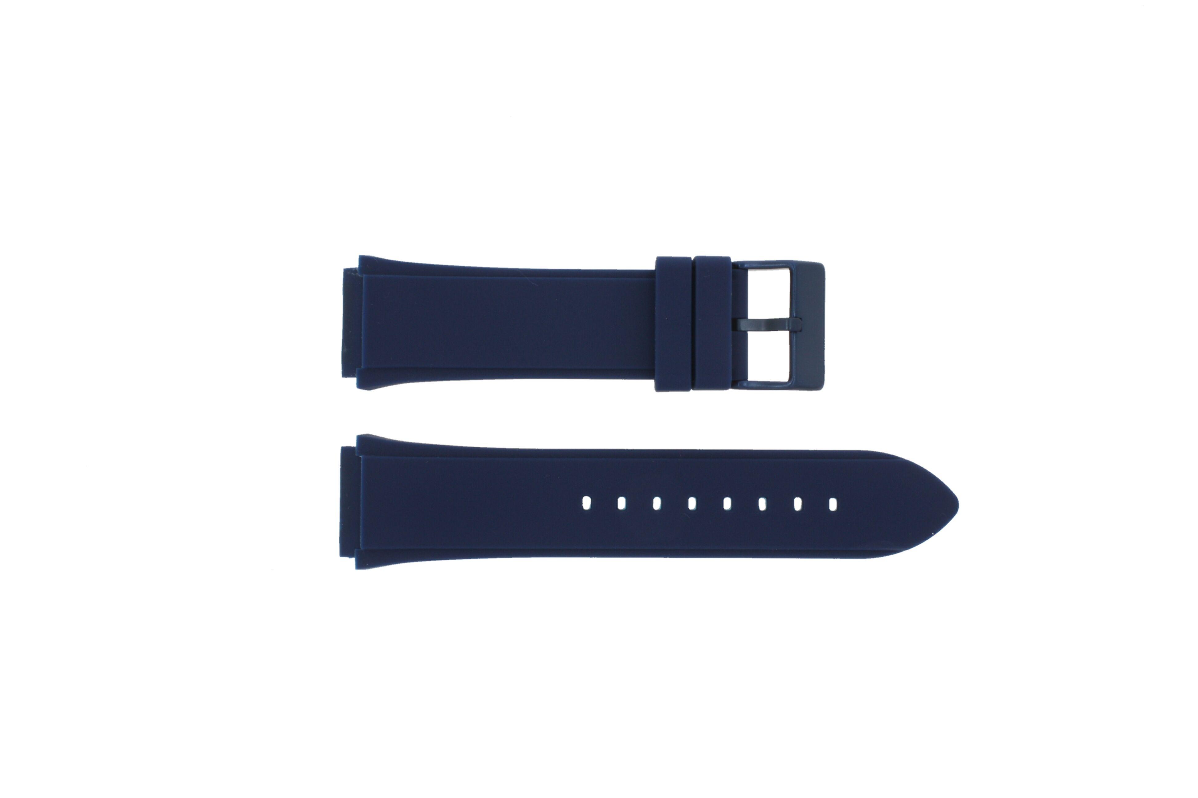 Guess Bracelet de montre Guess W0248G5 / W0247G3 / U0247G3 / C0001G1 Silicone Bleu 22mm