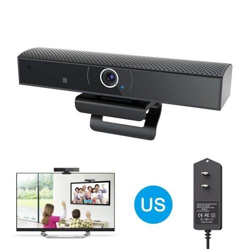 other 1080P HD Grand Angle de Vue Microphone Intégré Appel Vidéo Enregistrement Vidéo Caméra de Conférence pour Skype YouTube Facebook