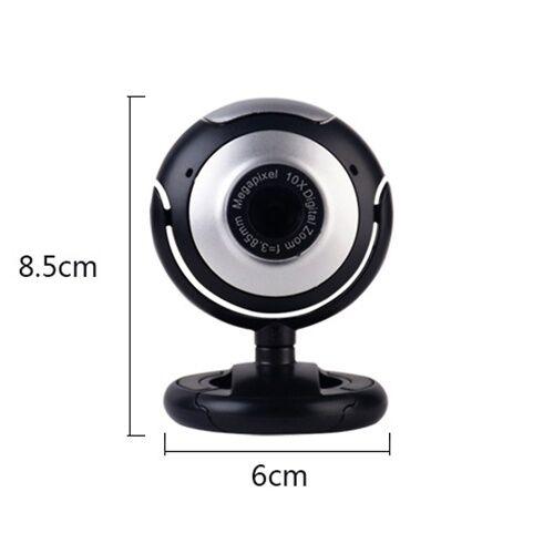 other Vidéo Appel Webcam Ordinateur Portable Cours En Ligne USB Plug Web Cam Avec Microphone Vidéo Chat PC Caméra Pour Ordinateur Portable