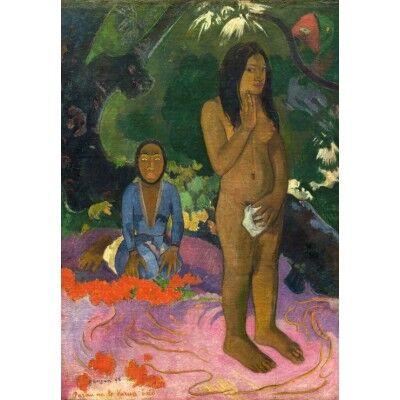 Paul Gauguin : Parau na te Varua ino (Mots du Diable), 1892