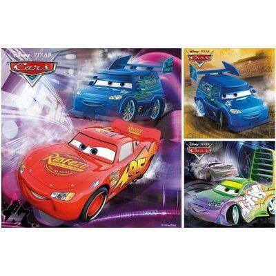 3 Puzzles - Cars : Sur la piste de course
