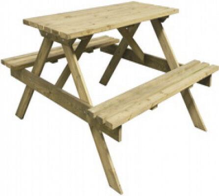 Intergard Pique-nique table Luxe 140cm