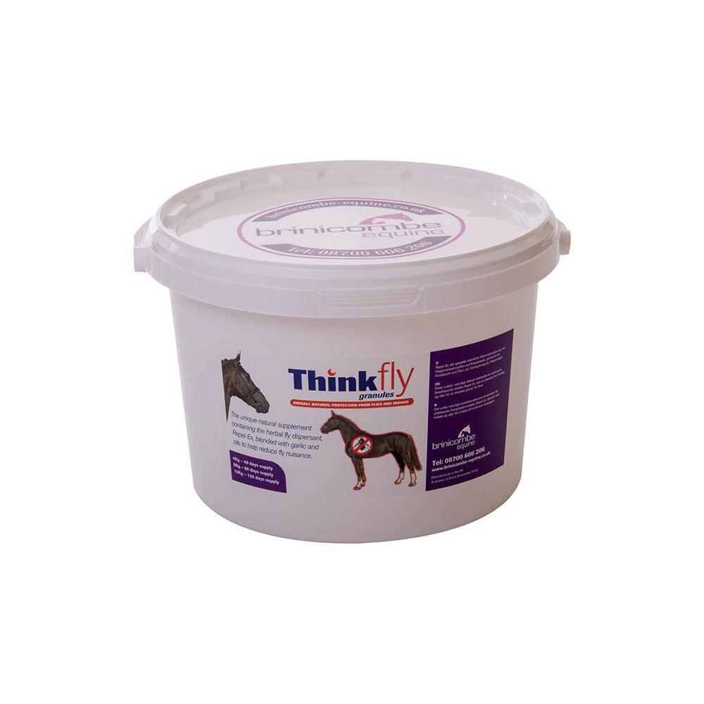 Brinicombe Equine Complément alimentaire en granulés anti-mouches Brinicombe Equine Think Fly Granules - 8 kg