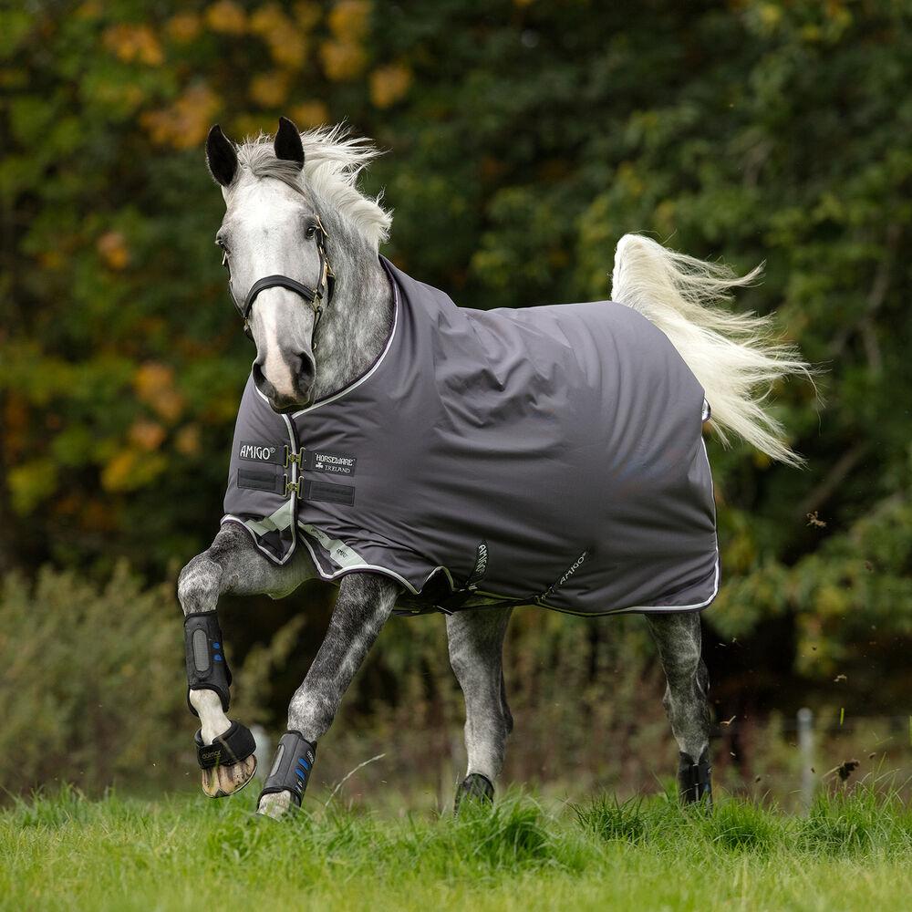 Horseware Couverture d'extérieur Horseware Amigo Bravo 12 wug Medium, 250g