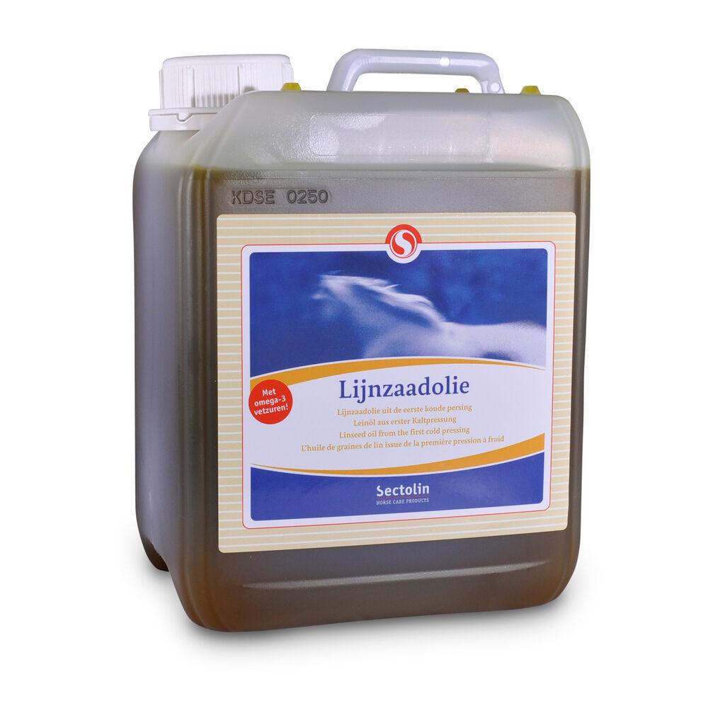 Sectolin Linseed Oil, huile de lin, 2,5 L
