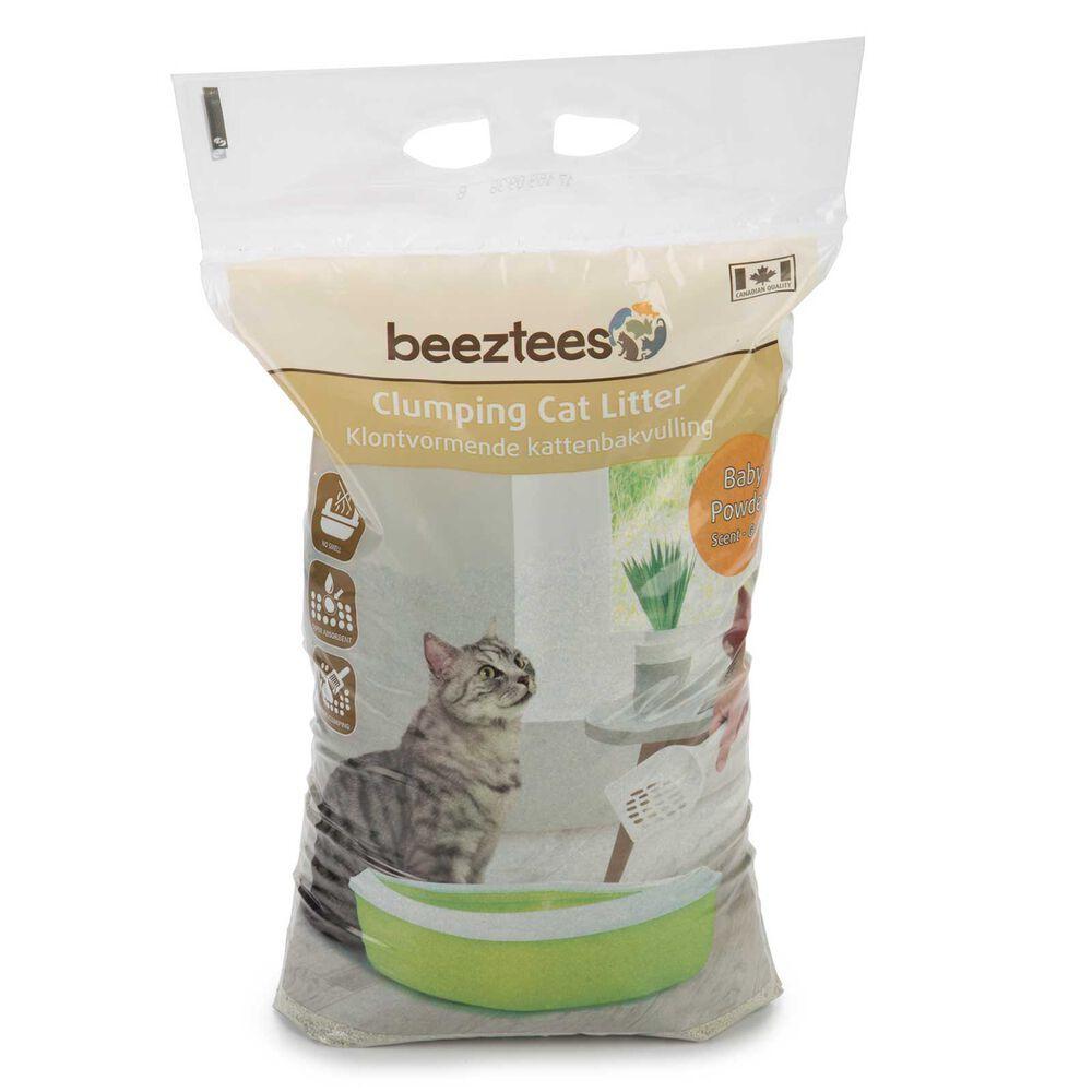 Beeztees Litière Beeztees pour chat au talc de bébé 7 kg