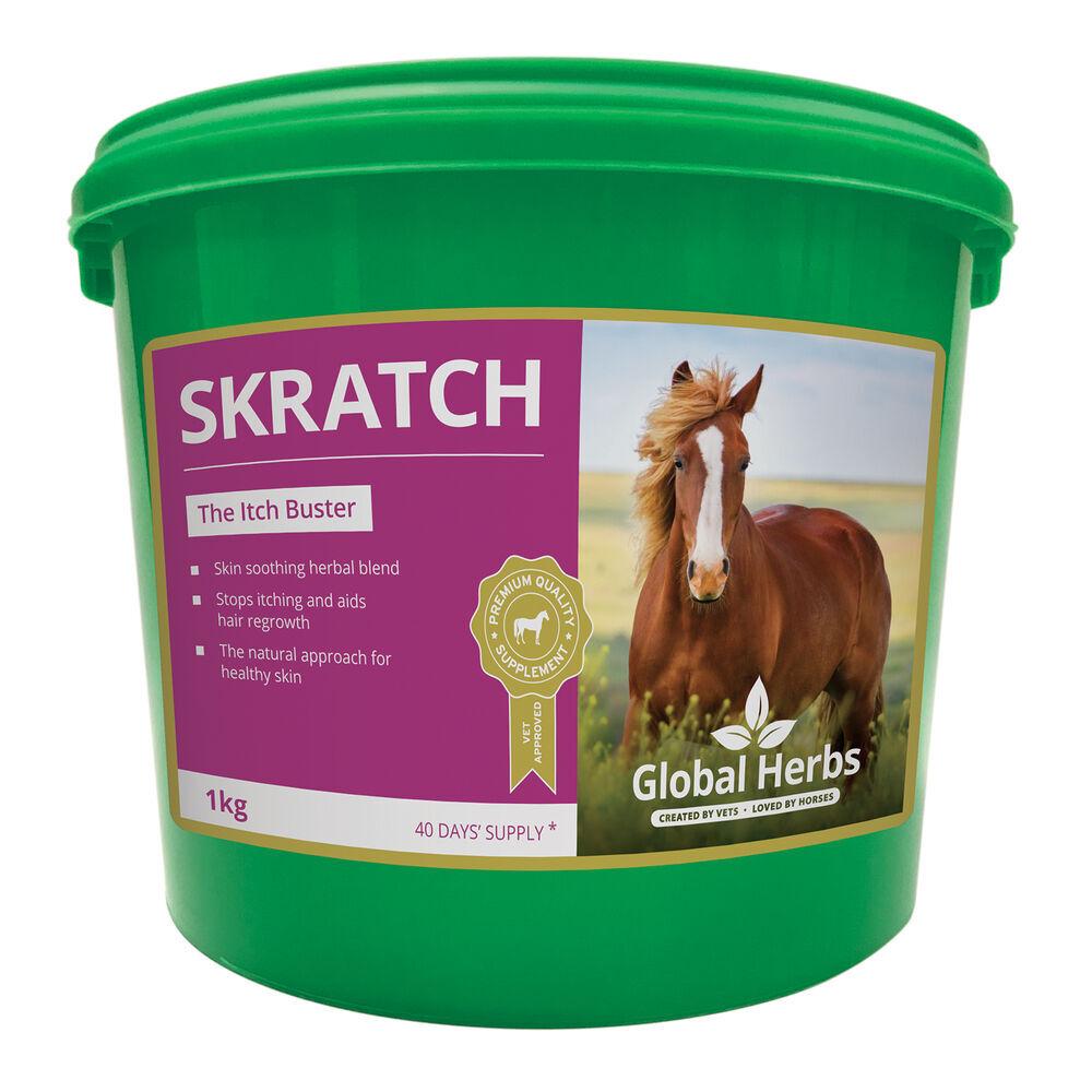 Globalherbs Complément alimentaire de soin Super anti-grattage Global Herbs Skratch 1 kg