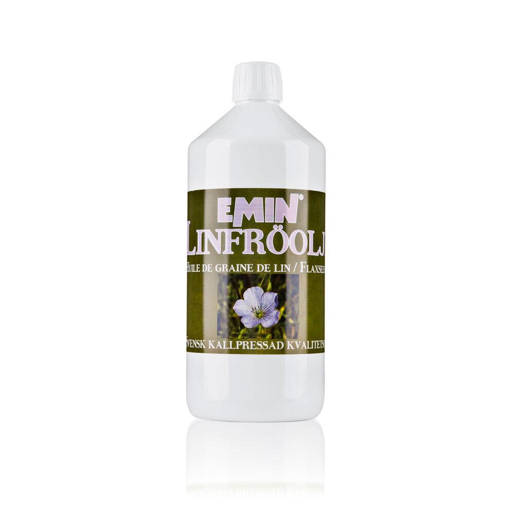 Emin Huile de graines de lin Emin, 1000 ml