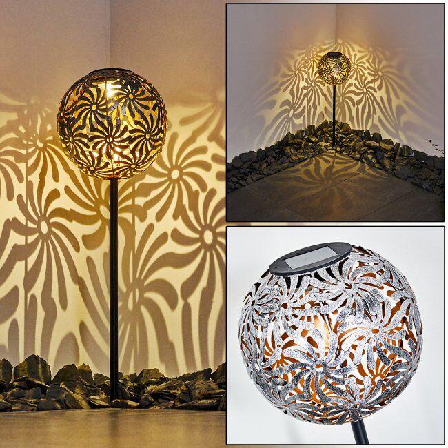 hofstein lampe solaire Gilbert LED Argenté, 1 lumière - - Extérieur - Gilbert - Délai de livraison moyen: 6 à 10 jours ouvrés. Port gratuit France métropolitaine et Belgique dès 100 €.
