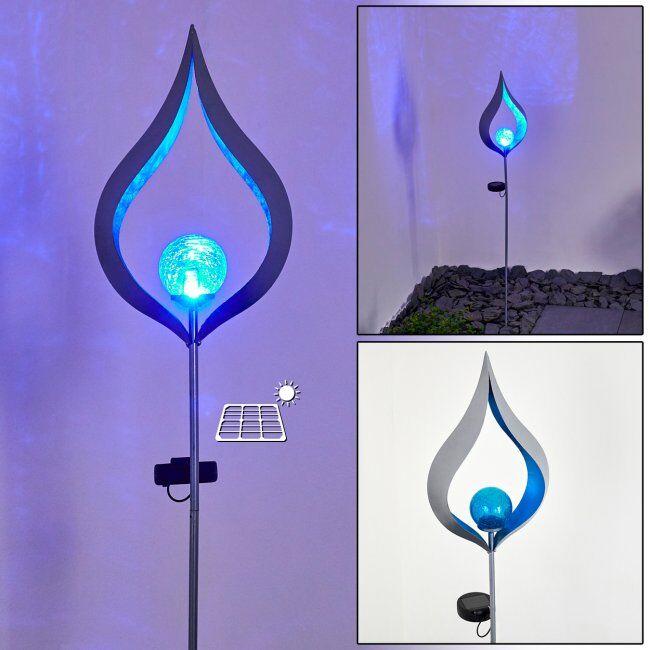 hofstein lampe solaire Rovinj LED Argenté, 1 lumière - Campagne - Extérieur - Rovinj - Délai de livraison moyen: 6 à 10 jours ouvrés. Port gratuit France métropolitaine et Belgique dès 100 €.