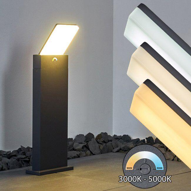hofstein Borne lumineuse Heraklion LED Anthracite, 1 lumière - Moderne - Extérieur - Heraklion - Délai de livraison moyen: 6 à 10 jours ouvrés. Port gratuit France métropolitaine et Belgique dès 100 €.