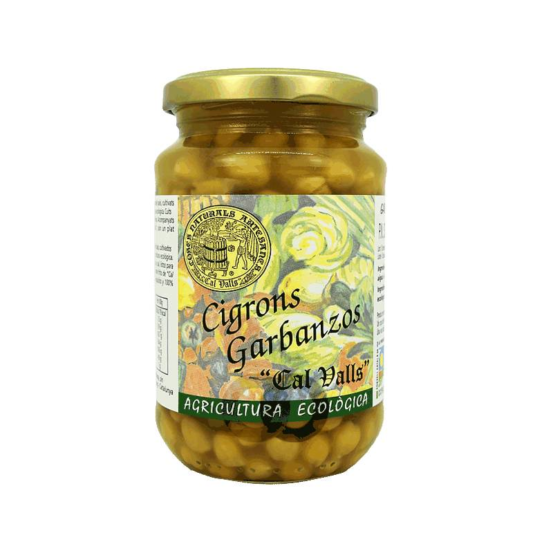 Cal valls Pois Chiches Cuits Bio - 220 Gr - Cal Valls