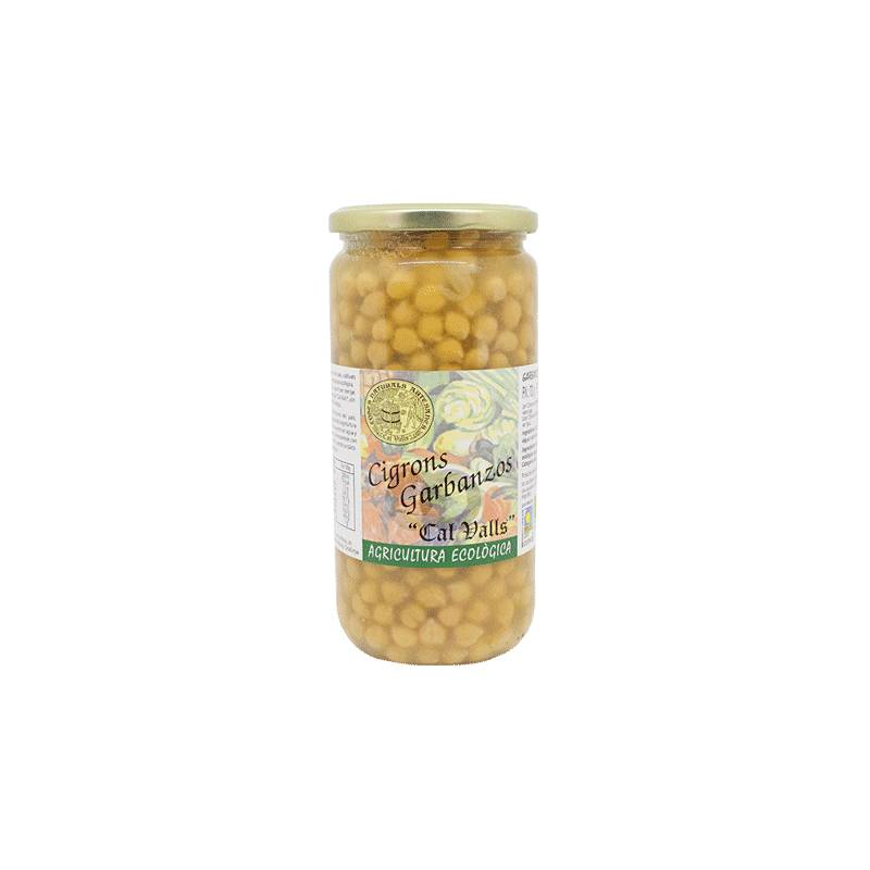 Cal valls Pois Chiches Cuits Bio - 450 Gr - Cal Valls
